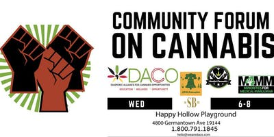 Community Forum  on Cannabis - Germantown