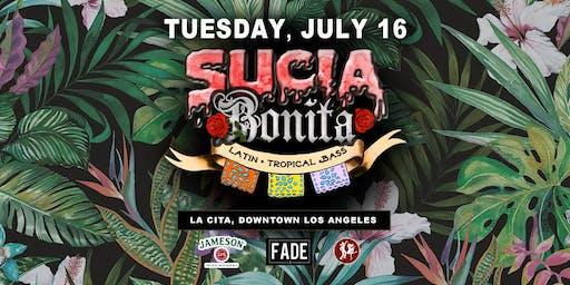 Sucia Bonita latin Bass Night (D.Painter B-Day)