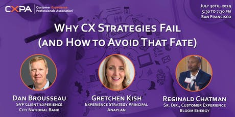 Why CX Strategies Fail (and How to Avoid That Fate) tickets