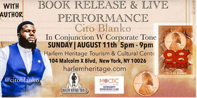 Cito Blanko Book Signing & Live Poetry Performance With Special Guest