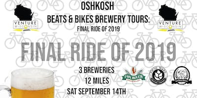 Oshkosh Beats & Bikes Brewery Tour: Summer Send Off