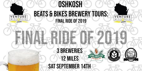 Oshkosh Beats & Bikes Brewery Tour: Summer Send Off tickets
