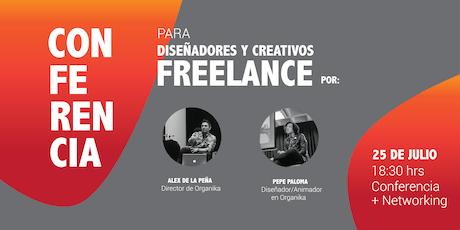 Conferencia GRATIS Para Diseñadores y Creativos Freelance boletos