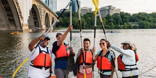 Paddle the Potomac: An Alternative Happy Hour with Outdoor Afro