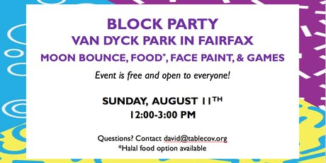 Block Party in Fairfax tickets