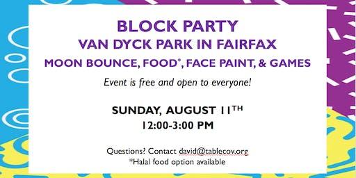 Block Party in Fairfax