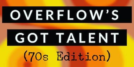 Overflow's Got Talent & Silent Auction  tickets