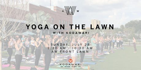 Yoga on the Lawn- July 28th tickets