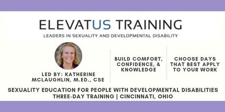 Sexuality Education for People with Developmental Disabilities tickets