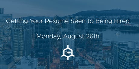 Getting Your Resume Seen to Being Hired tickets
