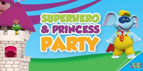 Superhero and Princess Party tickets