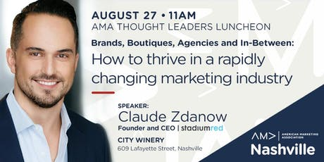 How to Thrive in a Rapidly Changing Marketing Industry tickets