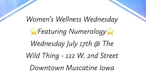 Women's Wellness Wednesday Featuring Numerology