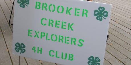 Brooker Creek Explorers Info Meeting for 2019 tickets