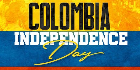 Colombia Independence Day Party - Dance the night away! tickets