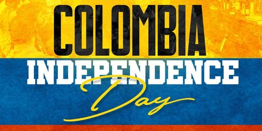 Colombia Independence Day Party - Dance the night away!