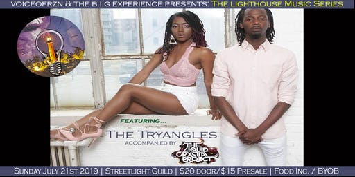Lighthouse Music Presents: The Tryangles, accompanied by Liquid Crystal Project