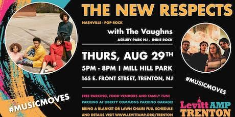 Levitt AMP Trenton Music Series: The New Respects w/ The Vaughns tickets