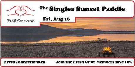 The Singles Sunset Paddle tickets