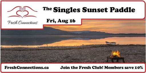 The Singles Sunset Paddle