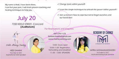 A Way for Positive Change, Healing and Growth (English) tickets