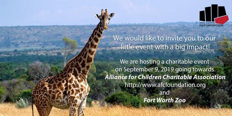 REAL ESTATE REFORMATION CHARITY EVENT AT FORT WORTH ZOO tickets