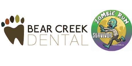 2019 Bear Creek Dental Zombie Fun Run tickets