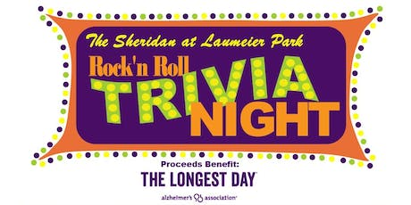 The Sheridan at Laumeier Park Rock'N Roll Trivia Night tickets