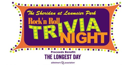 Rock'N Roll Trivia Night -OPEN BAR INCLUDED!