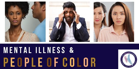 Let's Talk Community Discussion Series: Mental Illness and People of Color tickets
