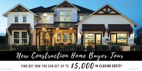 New Construction Home Buyer Tour tickets