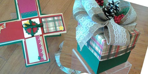 Christmas Explosion Box