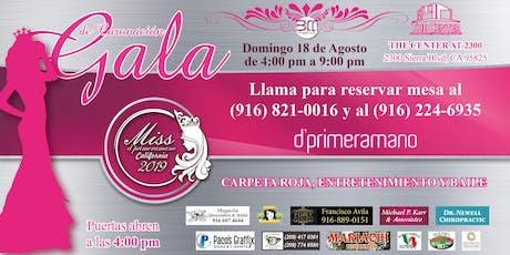 Gala de Coronación Miss Dprimeramano CA 2019 tickets