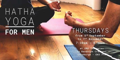 Men's Yoga classes [ 10 weeks ]
