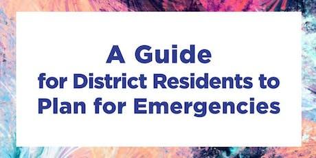 Resource Fair - Emergency Preparedness tickets