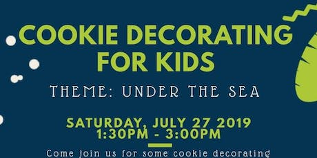Cookie Decorating 101 - KIDS CLASS tickets