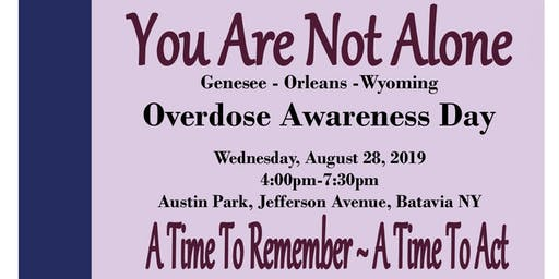 GOW Opioid Task Force Overdose Awareness Day 2019