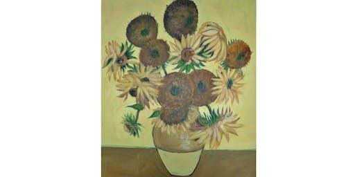 Sunflowers Van Gogh Symphony in Yellow