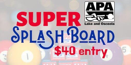 9-Ball Splash Board Saturday