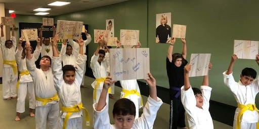 Attn Parents: FREE Karate Class for KIDS Ages 5-12 and FREE Pizza Party