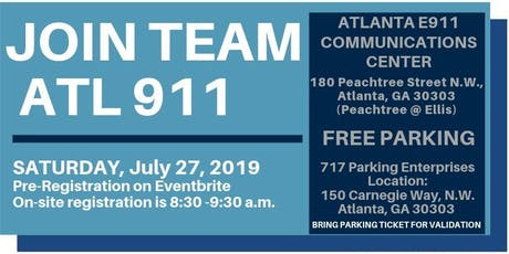 ATL 911 Communication Dispatcher Career Fair tickets