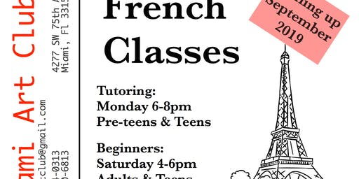 French Tutoring & Beginners Classes