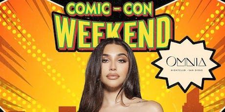 Comic Con Saturday at Omnia San Diego tickets