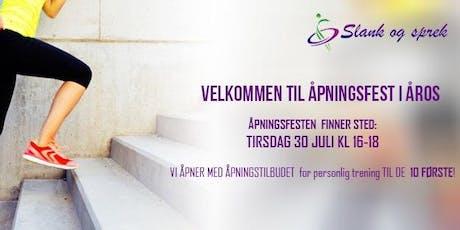 ÅPNINGSFEST ÅROS  tickets