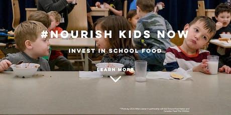 [Webinar] #Nourish Kids Now: Supporting a National School Food Program tickets