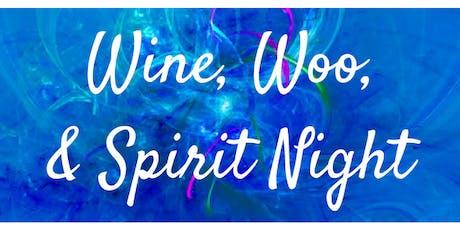 Wine, Woo, & Spirit Night 2019 tickets