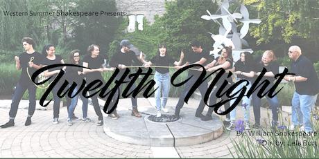 Western Summer Shakespeare presents: Twelfth Night tickets