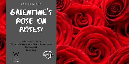 Galentine's Day Rosé on Roses: Ladies Night