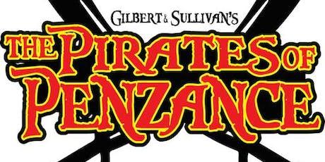 """The Pirates Of Penzance"" musical comedy at Hullabaloo tickets"