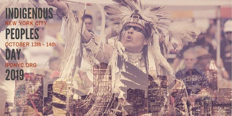 Indigenous Peoples Day NYC 2019 boletos